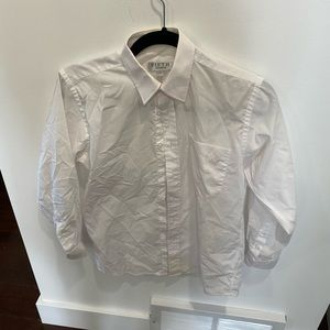 Size 12 boys button down shirt by Fifth Avenue  perfect condition